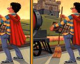 Гарри Поттер - Найди отличия