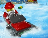 Лего Санта гонки