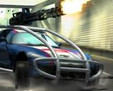 Машина-танк в городе