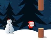 Прыгающий Санта