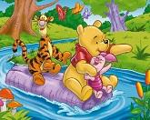 Винни Пух Пятачок и Тигра