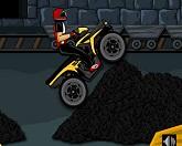 гонка на квадроцикле по угольной шахте