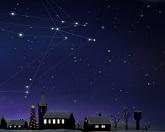 Сияние рождественских звезд