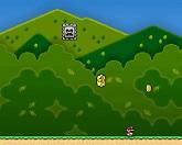 Супер Марио собирает монеты