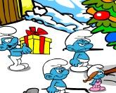Рождество смурфов