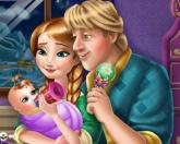 Ребенок Анны и Кристофа