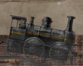 Грузовой паровоз