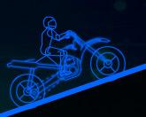 Неоновый мотоциклист 2