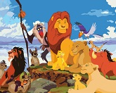 Сложить плитку: Король Лев