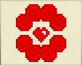 Вышивка ко дню святого Валентина