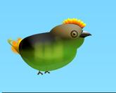 Птичка между трубами