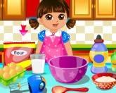 Даша делает торты