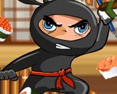 Ниндзя режет суши