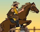 Ковбой на коне