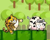 Тигр и корова