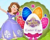 София красит яйца