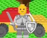 Аркады с лего роботом