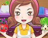 Продавщица овощей