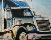 Пазл грузовик