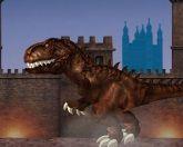 Тираннозавр в Лондоне