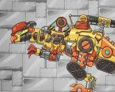 Дино робот 12