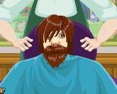 Кристоф в парикмахерской