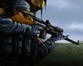 Снайпер в бою 2