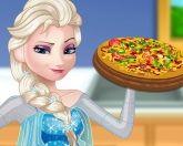 Вкусная пицца Эльзы