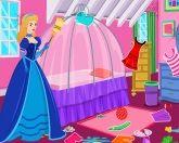 Уборка в комнате принцессы