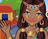 Макияж в африканском стиле