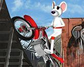 Мышь на мотоцикле 3