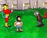 Герои против зомби
