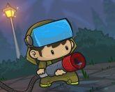 Пожарный против зомби