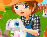 Ферма с кроликами