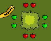 Змейка и яблоки