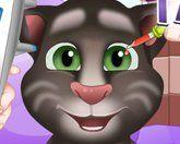 Кот Том у окулиста