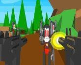 Кролик с пушкой