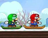 Лыжный Марио