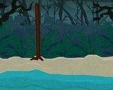 Жуткий остров - выживание