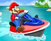 Марио на гидроцикле