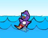 Пингвин серфингист