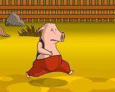 Бегущая свинья