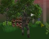 Солдат против зомби