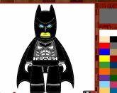 Разукрась Лего Бэтмена