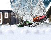 Гонки на снегоходах 2