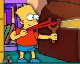 Барт и рогатка