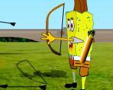 Спанч Боб стрелок из лука