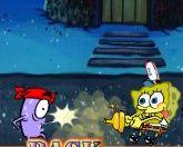 Спанч Боб в бою