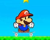 Марио на скейте