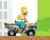 Гомер на квадроцикле